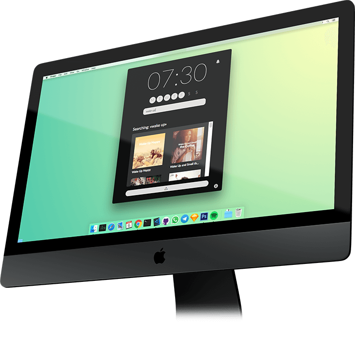 Turn your Mac into a Spotify Alarm Clock - Introducing Wakefy Image